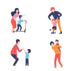 地味に辛い中腰姿勢…子育て中のママの身体を労わるヨガポーズ3選