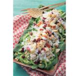 脳によい食事 ほうれん草 カニ サラダ