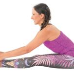 腰痛 パスチモッターナーサナ (西側を強く伸ばすポーズ)