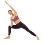 腰筋 鍛える ウッティターパールシュヴァコーナーサナ(体の脇を伸ばすポーズ)