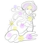 風のエレメントイメージ/Illustration by Nanayo Suzuki