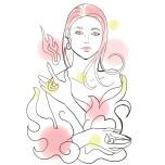 火のエレメントイメージ/Illustration by Nanayo Suzuki