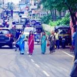 インドの街中