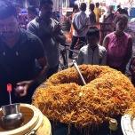 インドの焼きそばチョウメン