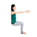 太腿の筋肉を刺激