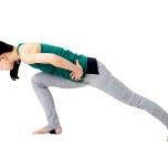 膝が足首より前に出ると前足重心になり、起き上がるときに後ろ足が使えなくなる。