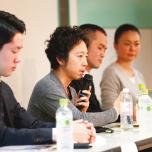 「アンダーザライトヨガスクール」で開催した、生徒にけがをさせない安全なヨガ指導を学ぶ勉強会の講師に。テキストも尚人先生が監修しています。