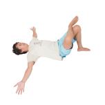ストレッチポーズで大腿筋膜張筋を伸ばす