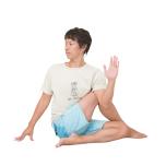 [体をゆるめて心を整えるヨガキネシセラピー]アルダマッツェーンドラーサナで小円筋を伸ばす