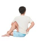 [体をゆるめて心を整えるヨガキネシセラピー]アルダマッツェーンドラーサナで小円筋を伸ばす(体が硬い人は)