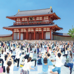2019/6/23 国際ヨガDAY関西(平城宮跡 朱雀門ひろば)