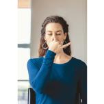 ストレス ヨガ 坐位 呼吸法