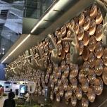 インド感強めな空港内