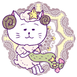 牡羊座/Illustration by Nanayo Suzuki