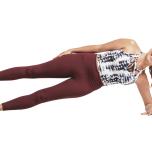 腸脛靭帯の可動性が過度に高い場合 ヴァシシュターサナ(サイドプランクポーズ)