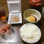 帰国後、最初の食事はやっぱり定番和食!