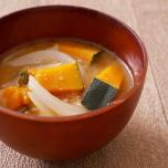 血流改善で理想の体型へ!かぼちゃと玉ねぎの味噌汁【痩せる和風スープ #2】