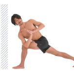 内腿の筋肉が働くとねじりポーズが上達|下半身が安定する練習法