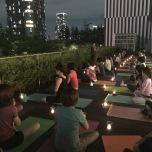 東京夜空の下 新月・満月とキャンドルヨガ @ukafe