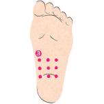 反射区を刺激して腸を活性化!便秘を解消する足裏もみワーク