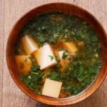 賢く栄養をとってダイエット|モロヘイヤと豆腐の味噌汁【痩せる和風スープ #3】