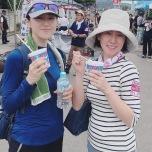 ボランティア活動の後のカキ氷は世界1美味しかった