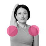 体の後ろで手を組めない人へ|肩関節の可動域を広げるタオルストレッチ