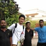 ホテルスタッフとも楽しい思い出ばかり。インド男性はいつも笑顔なのにカメラを向けると決め顔(笑)
