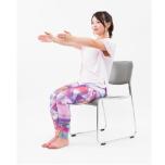 大きな筋肉を鍛えることがヤセ体質への近道。お腹まわり&二の腕に効かせるチェアヨガ