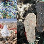 海洋プラスチックのソール