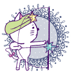 射手座/Illustration by Nanayo Suzuki