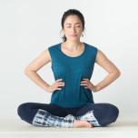 深呼吸ができる体を手に入れる呼吸筋をゆるめるプレアーサナ①