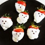 果糖は太りにくい?ハロウィン向け♡簡単ゴーストレシピ【罪悪感のないおやつ#6】