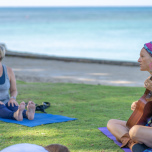 ハワイ在住者おすすめ!カピオラニ公園のビーチヨガ【ハワイ最新ニュース】