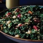 【レシピ】快眠に導く食事|ケールとブルグアのサラダ
