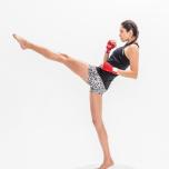 モデルKellyの美脚の秘訣はキックボクシング!前蹴りシェイプで脚のラインを整えよう