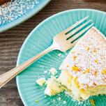 レモン香る!さっくり食感のオリーブオイルケーキ|ヨギのヘルシーレシピ