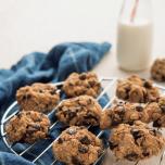 バナナ×ズッキーニでしっとり食感。ヘルシーチョコチップクッキー| ヨギシェフのスイーツレシピ