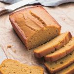 バター不使用、米粉とかぼちゃでしっとり!パンプキン・ ティーケーキ | ヨギシェフのスイーツレシピ