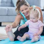 【ヨガ動画】産後太り解消!赤ちゃんと一緒にできる簡単・産後ケアヨガ3選