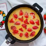 太らないおやつ♡超簡単「もっちりスキレットケーキ」のレシピ【罪悪感のないおやつ #10】