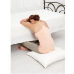 ベッドで行う簡単リストラティブヨガ
