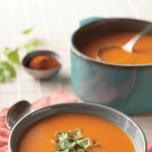 スパイス レシピ インド トマトと豆のスープ