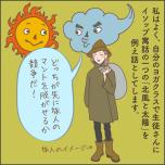 北風と太陽と旅人