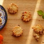 春野菜の大豆粉ビスケットby YOKO