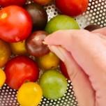 トマトとミョウガのピクルス
