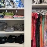 パレオやプルオーバー、Tシャツなどもあります。サイズ確認がしやすくて便利!